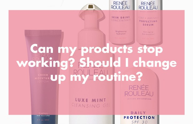 Can skincare products stop working