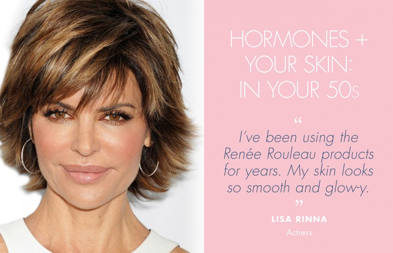 How Do Hormones Affect The Skin In Your 50s Rene Rouleau