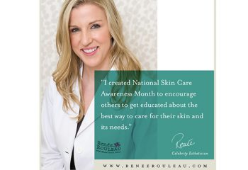 September is National Skin Care Awareness Month