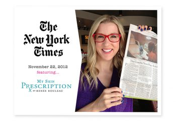 The New York Times Features My Skin Prescription