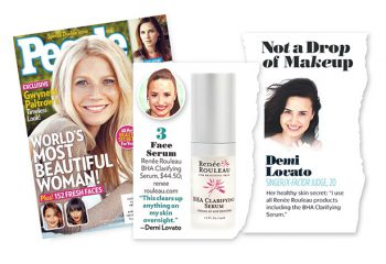 Renée Rouleau Skin Care Featured in People Magazine