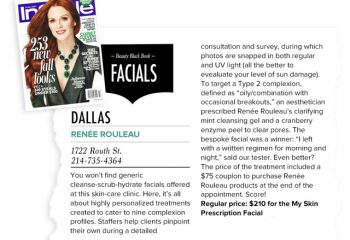 """InStyle Magazine Named Renée Rouleau the """"Best Facial in Dallas"""""""