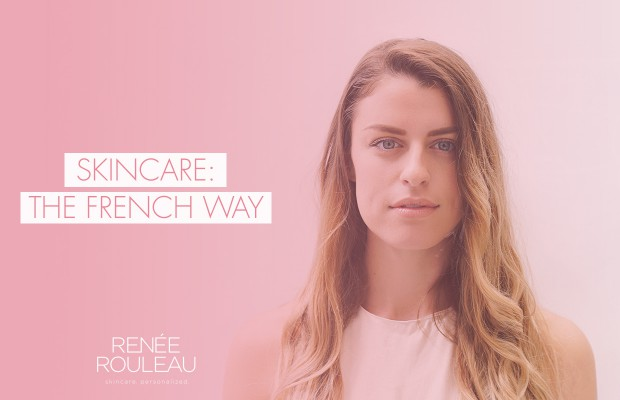 french facial skincare routine