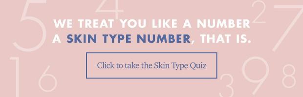 Skin Type Number Quiz