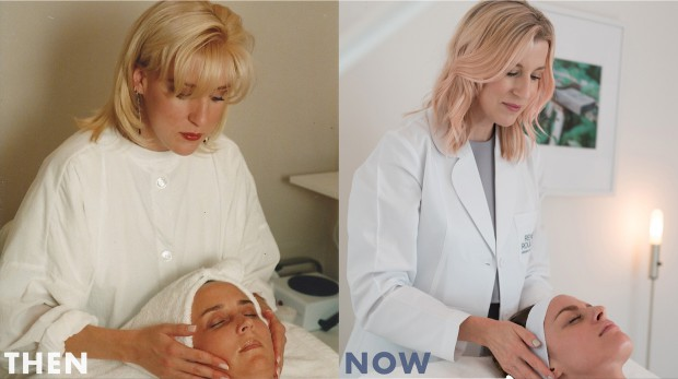 Renee Rouleau Then and Now