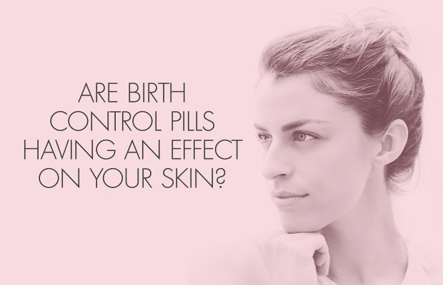 birth control pills can cause brown spots