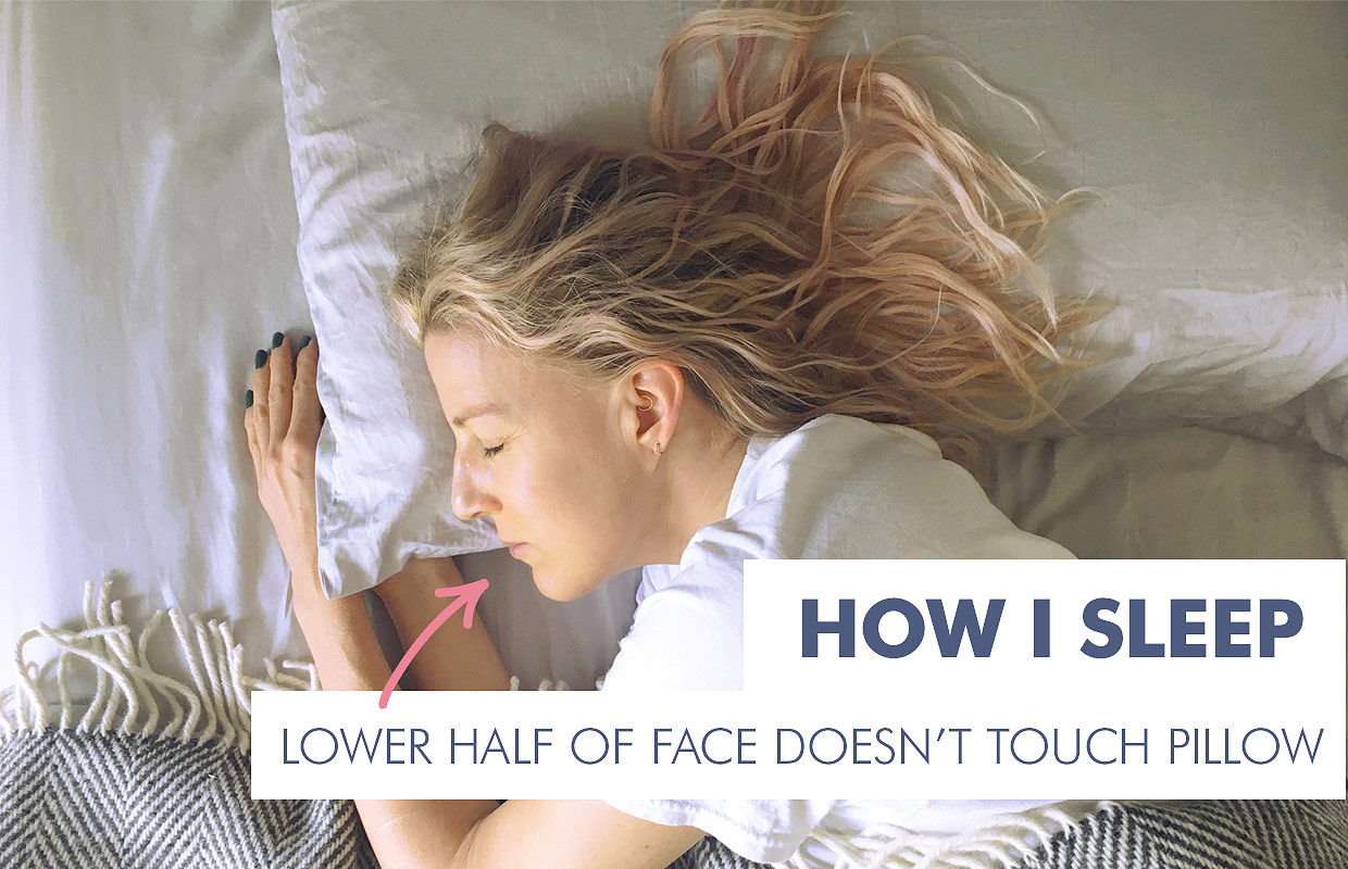 Best Way To Sleep On Your Pillow To Prevent Wrinkles