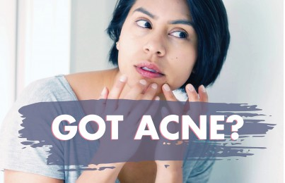 The Upside of Having Acne