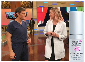 Renée Shares Her Favorite Exfoliating Skin Ingredients On The Dr. Oz Show