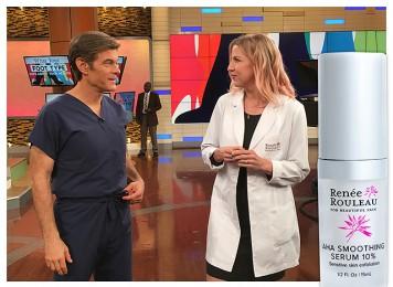 Renée Shares Her Favorite Exfoliating Skin Ingredients On The Dr. Oz Show