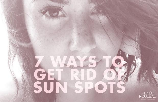 summer sun spots