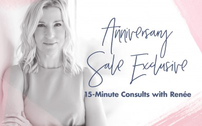 You've Been Selected to Receive a 15-Minute Consultation With Renée