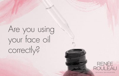 How to use face oil - Renee Rouleau