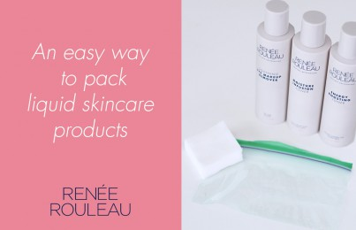 How To Easily Pack Liquid Skincare Products In Your Carry-On