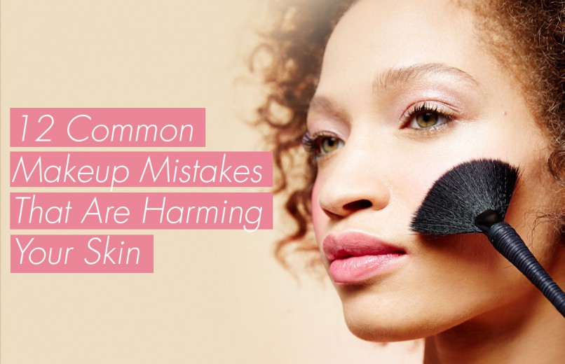 how makeup is affecting your skin