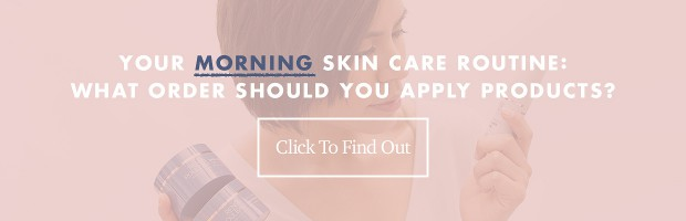 Applying Your Products Morning Routine