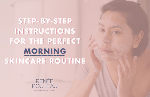 what order of morning skincare routine