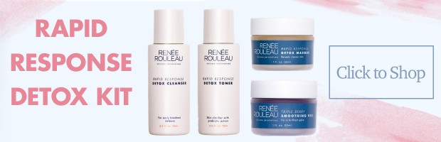 4-piece kit to clear sudden breakouts