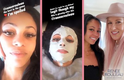 Riverdale's Vanessa Morgan gets wedding facial from Renée Rouleau