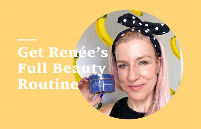 Renée Rouleau full at-home beauty routine with peel
