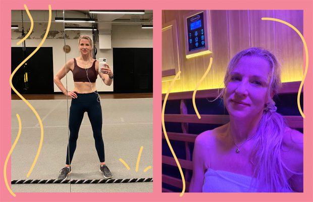 Renée Rouleau health & fitness