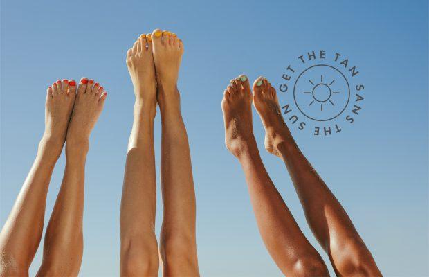 self tanner legs