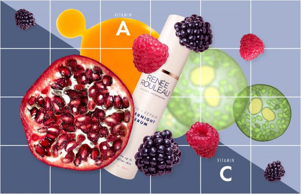 Antioxidants used in skincare and their sources
